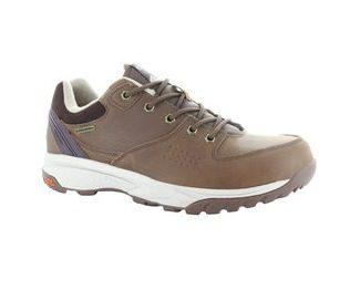 Hi-Tec Wildlife Lux Low WP Mens Walking Shoes - Brown