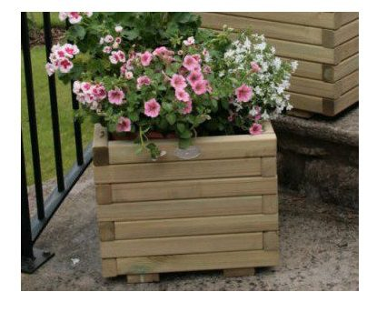 Hutton Small Square Planter