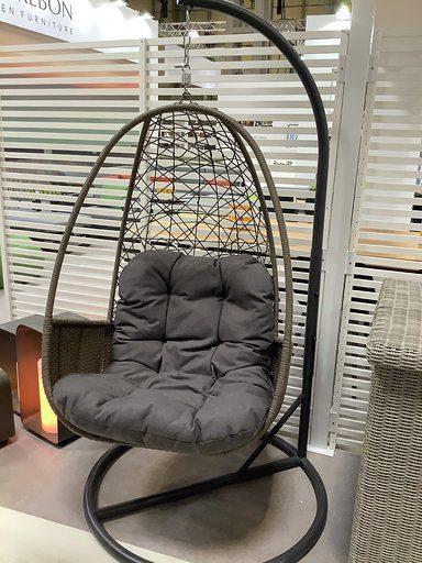 Kettler Palma Cocoon Chair - White Wash