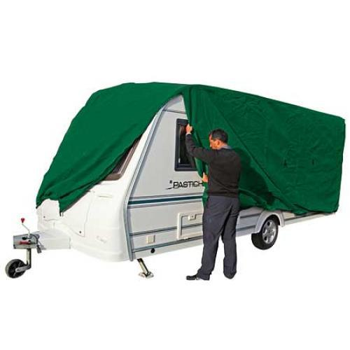 Kampa Prestige Caravan Cover 17'-19' (881302) - NEW 2015 MODEL - WITH 4 ZIPS