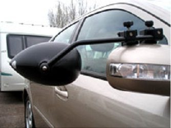 Milenco Areo 2 Flat glass Towing Mirror (Pair)