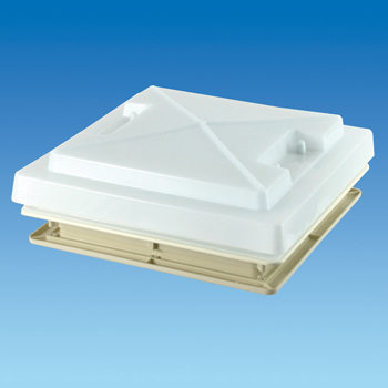 MPK 280 x 280cm Rooflight with Flynets - White