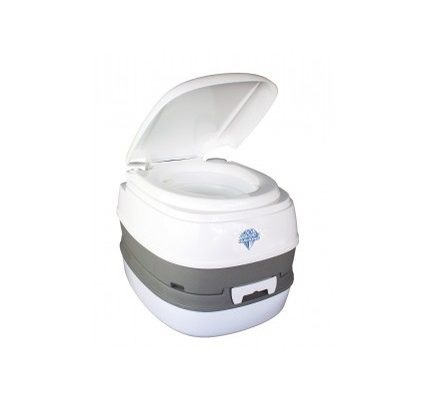 Blue Diamond Toilet