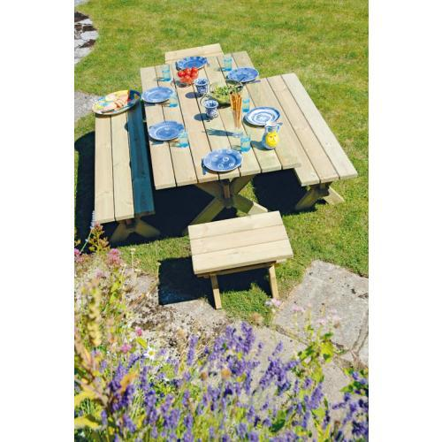 Alexander Rose Farmers Pine Bench Set