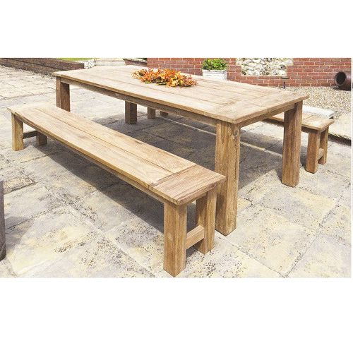 Herculus Reclaimed Teak 180 x 90cm Table - 249601
