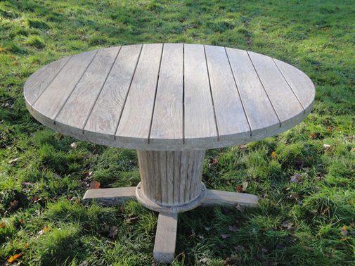 Life Outdoor Devon 140cm Round Teak Table