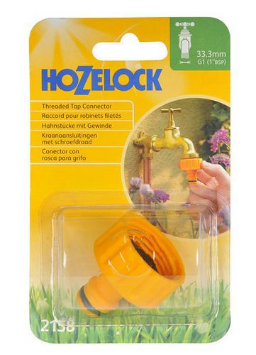 Hozelock Threaded Tap Connector (2158)