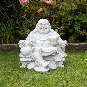 Enigma Wealthy Sitting Buddha Granite