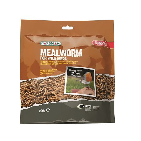 Mealworm Pouch, Sizes: 200g, 1.5kg (A04527)