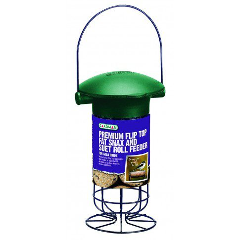 Premium Flip Top Fat Snax & Suet Roll Feeder (A01543)