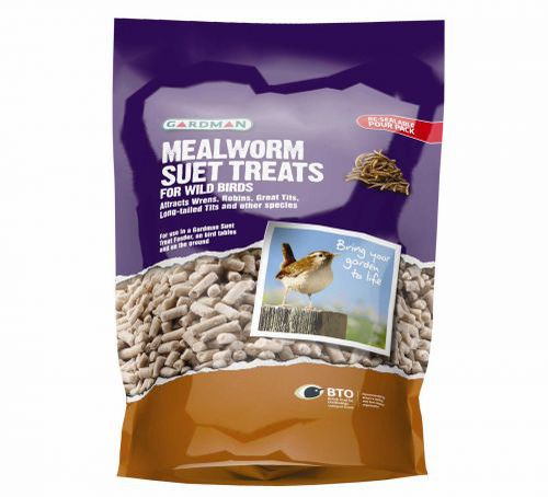 Mealworm Suet Treats 550g (A04251PS)