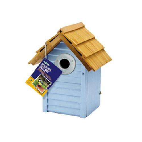 Gardman Beach Hut Nest Box - Blue (A01681)