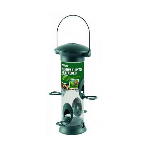 Gardman Premium Flip Top Seed Feeder (A01540)