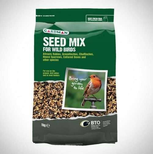 Seed Mix, Sizes: 1kg, 2kg, 4kg, 12.75kg (A05430)