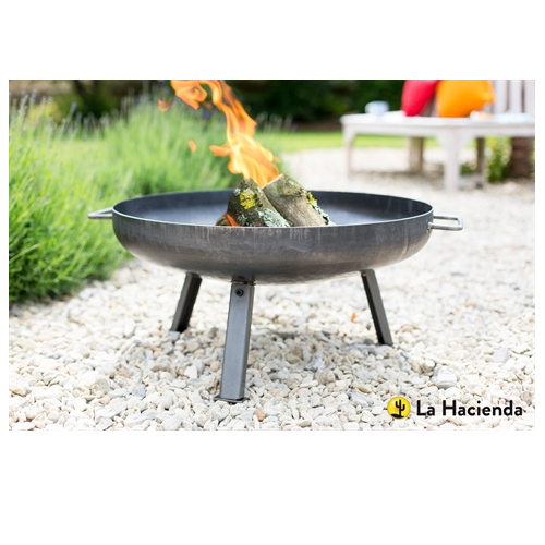 La Hacienda Pittsberg Industrial Fire Pit Small - 55575
