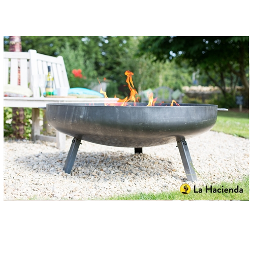 La Hacienda Pittsburgh Industrial Fire Pit Large - 55577