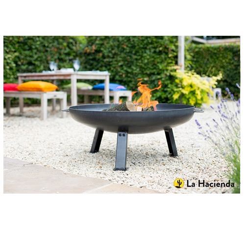 La Hacienda Pittsberg Industrial Fire Pit Medium - 55576