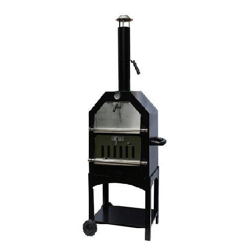 La Hacienda Steel BBQ Pizza Oven (56107)