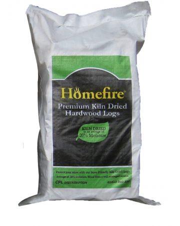 Kiln Dried Hardwood Logs - Medium Bag