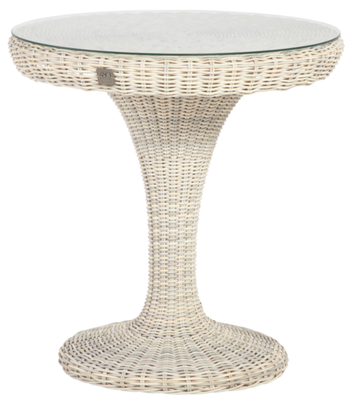 $ Seasons Victoria Bistro Table 74cm Provance + Glass with hole