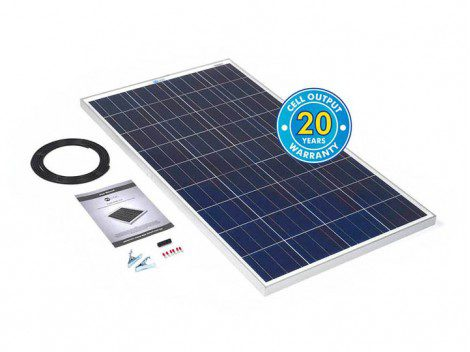 Solar Technology 120watt Solar Panel Kit with Voltage Regulator