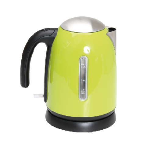 Quest 1.2L Low wattage stainless Steel Kettle - Green