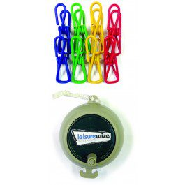 Leisurewize Retractable Washing Line Kit - LWACC120