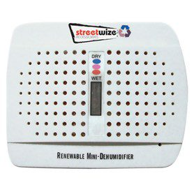 Streetwize Rechargeable Dehumidifier (Twin Pack)