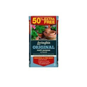 Levington Original Multi Purpose Compost 50lt + 50% Free