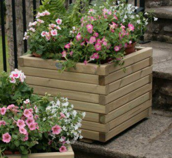 Hutton Large Square Planter