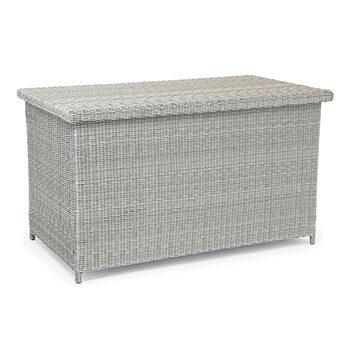 M Kettler Palma Cushion Storage Box White Wash