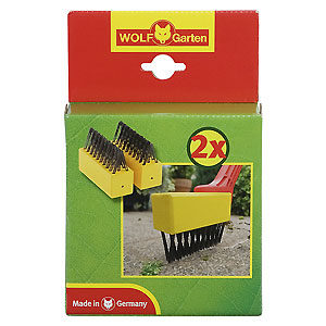 Wolf Garten Replacement Weeding Brush Twin Pack (FBME)
