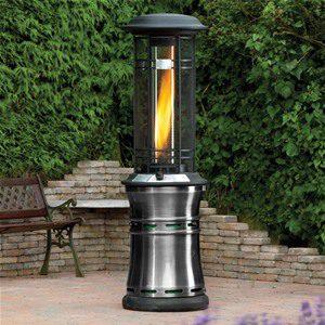 Lifestyle Santorini Inferno Pewter Flame Heater 11kW - LFS822