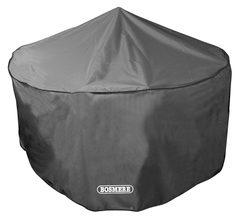 Bosmere Storm Black Circular 6-8 Seater Patio Set Cover- D523