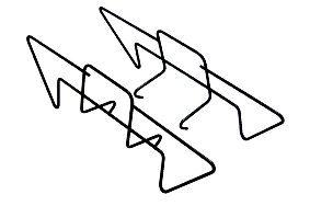 Cadac Charcoal Rails - 98135