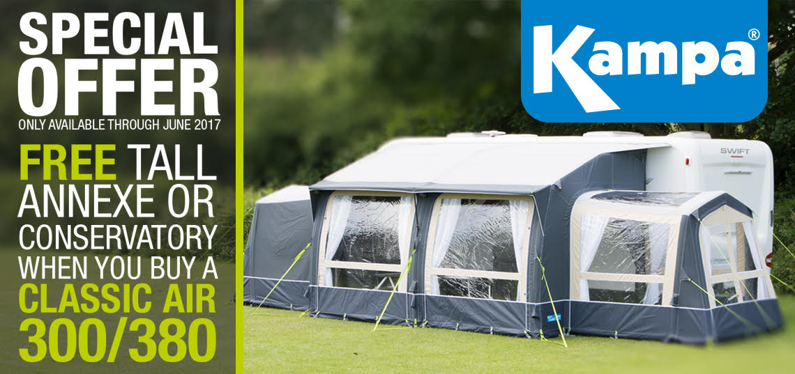 Kampa Classic Air Export Promotion