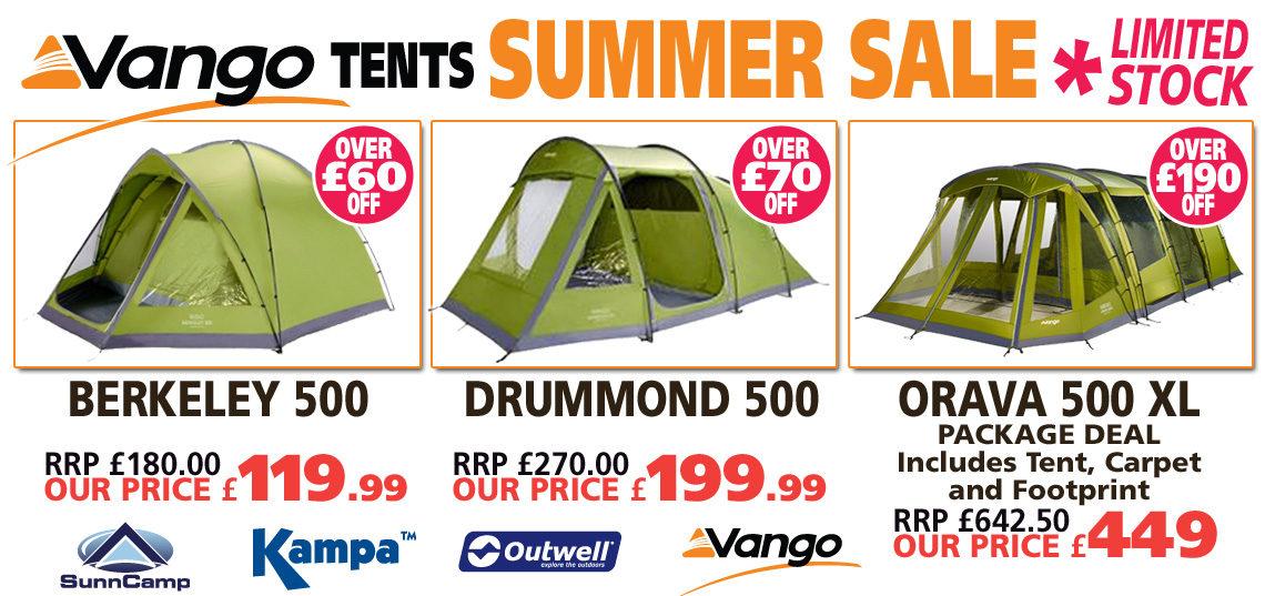 Vango tents summer sales