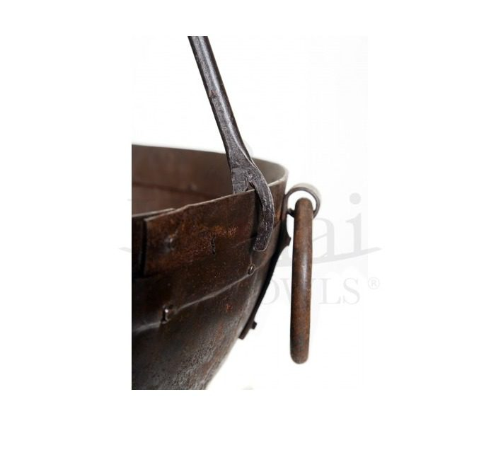 Kadai Cooking Tripod with Chain and Hook