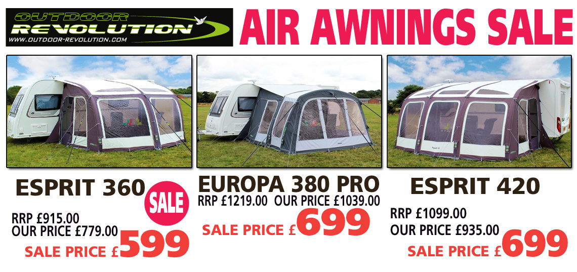 Outdoor Revolution Air Awnings