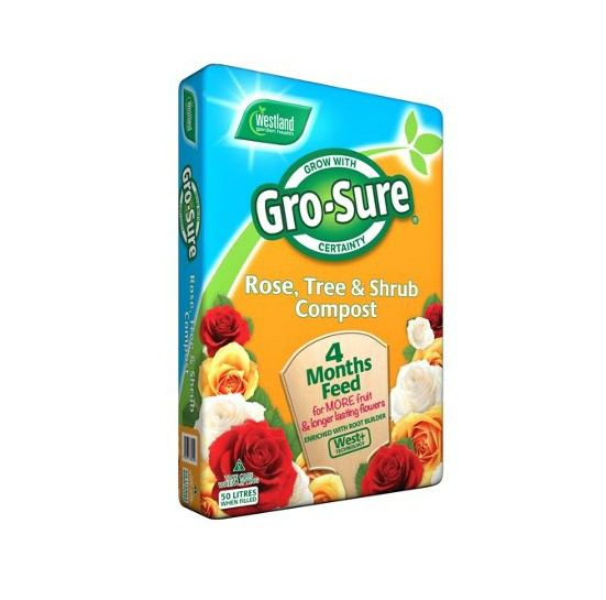 Westland Gro-sure Rose Tree and Shrub Compost 50l