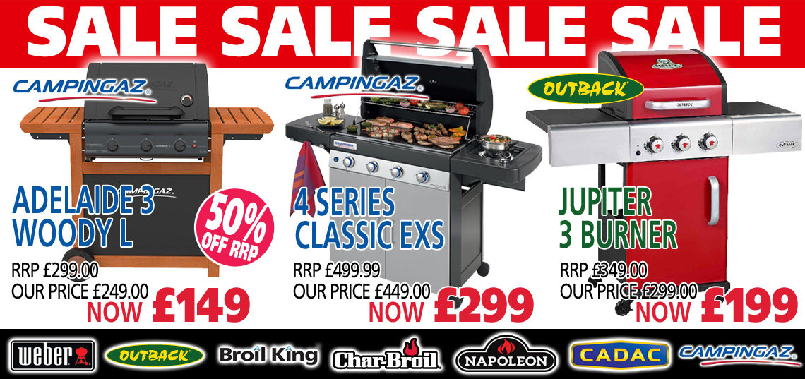 Sale barbecues