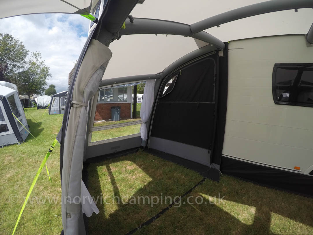 Kampa Frontier 300 Air Pro Caravan Awning 2018 5