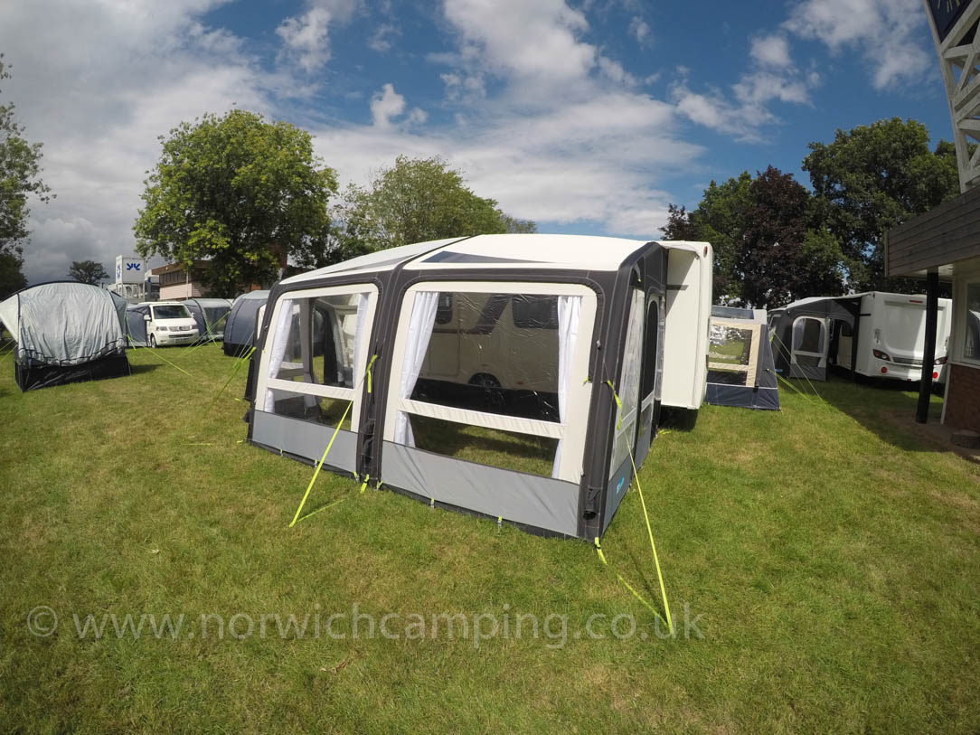 Kampa Rally Air Pro 390 Grande Caravan Awning 2018 1