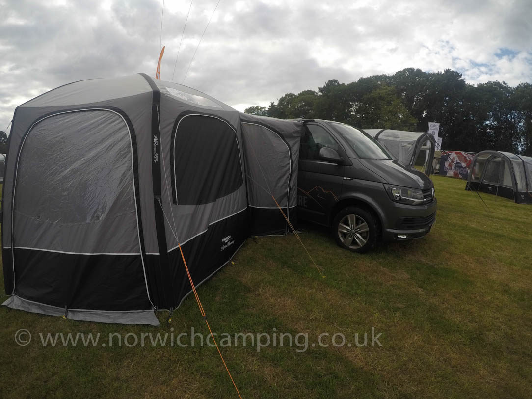 Vango Airhub Hexaway Low Drive Away Awning 2018 Sale Norwich Camping