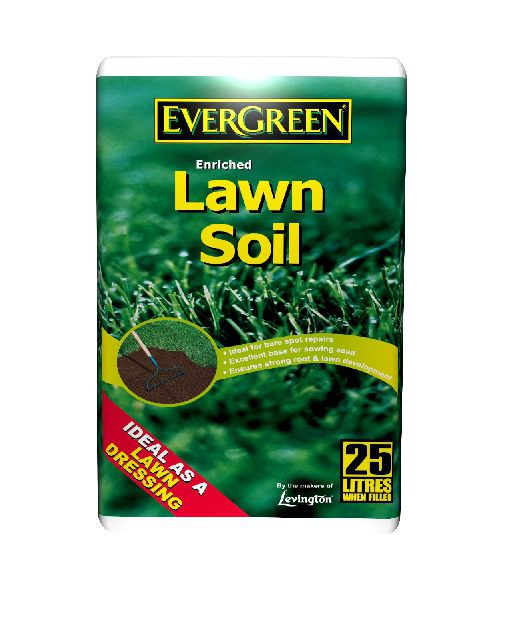 Evergreen Enriched Lawn Soil 25Lt