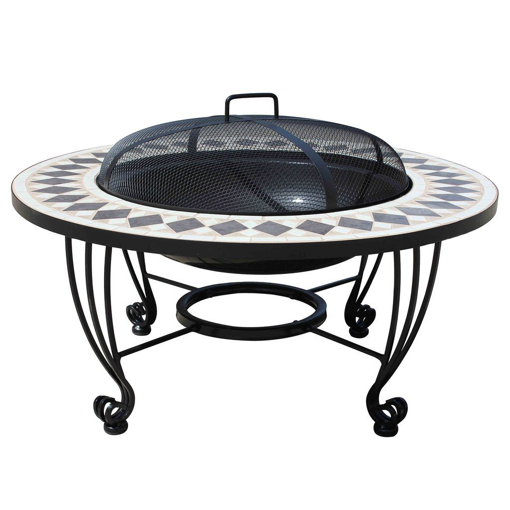 Leisuregrow Caldera Ceramic Firepit
