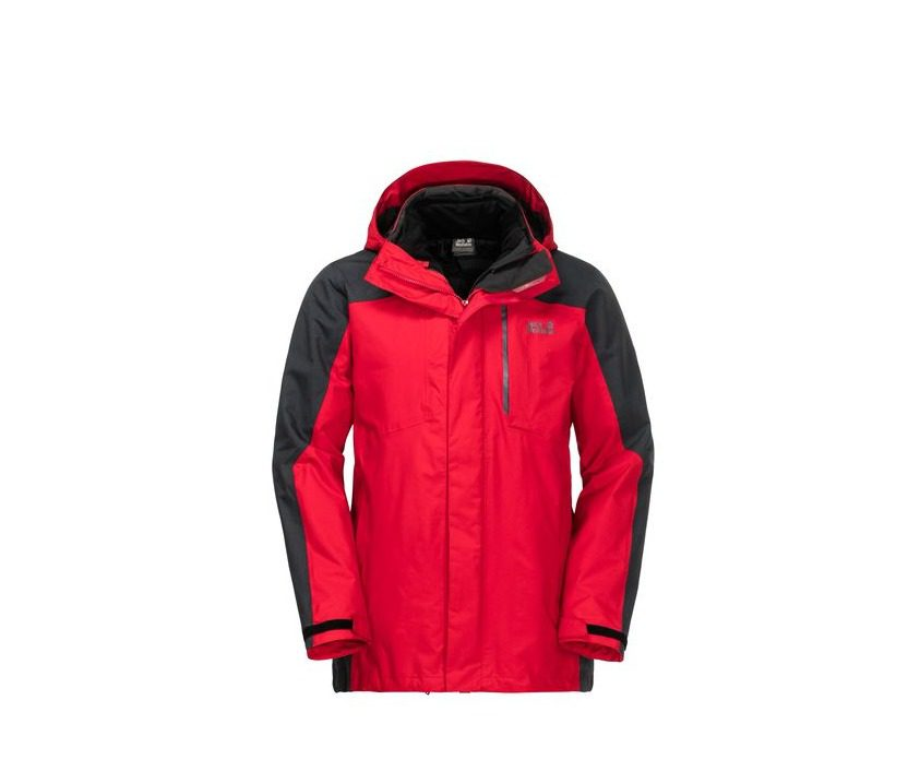 Jack Wolfskin Viking Sky Mens - Ruby Red