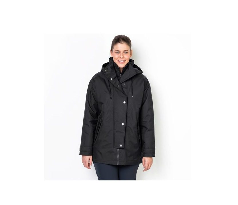 Jack Wolfskin Toronto Bay Womens Jacket - Black