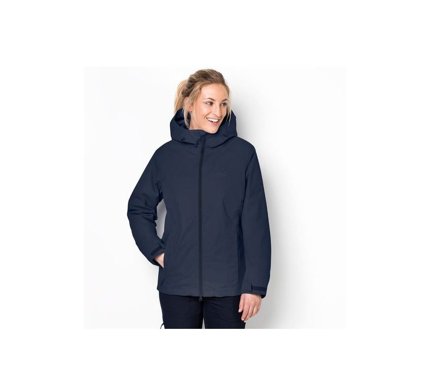 Jack Wolfskin Chilly Morning Womens Jacket - Midnight Blue