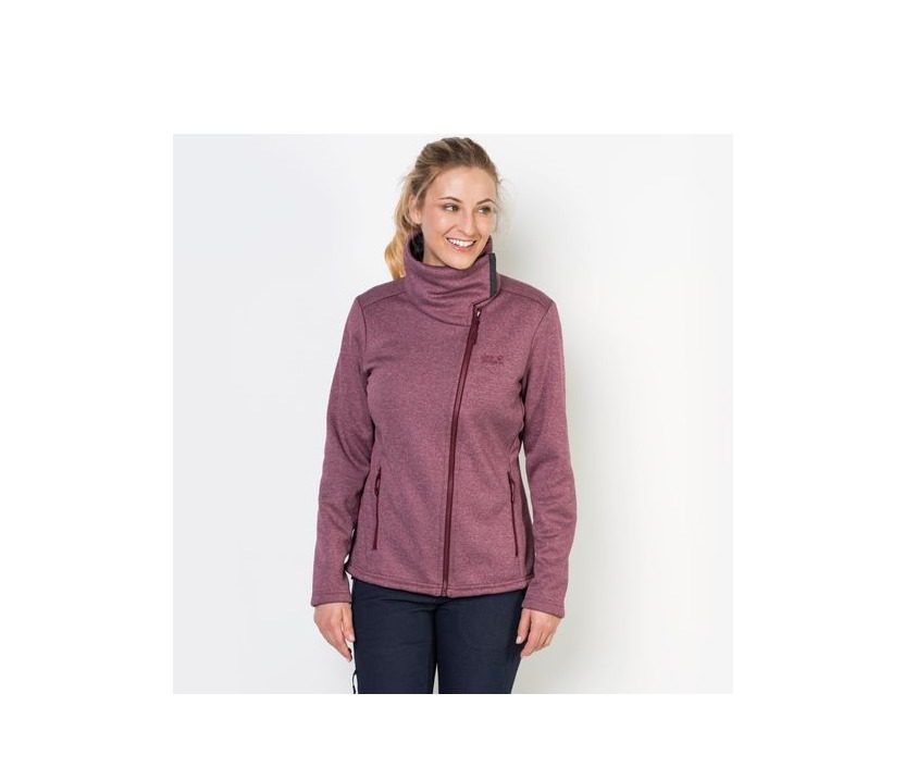 Jack Wolfskin Atlantic Sky Womens Jacket - Garnet Red